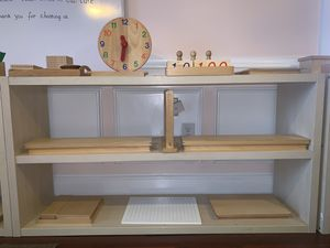 Daycare custom made shelves and table. for Sale in Marietta, GA