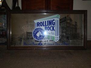 Rolling rock mirror for Sale in Pomona, CA