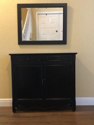 Cabinet and Mirror Set for Sale in Boynton Beach, FL