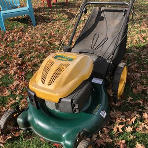 "Yard man 139cc 21"" push mower with bagger for Sale in West Hartford, CT"