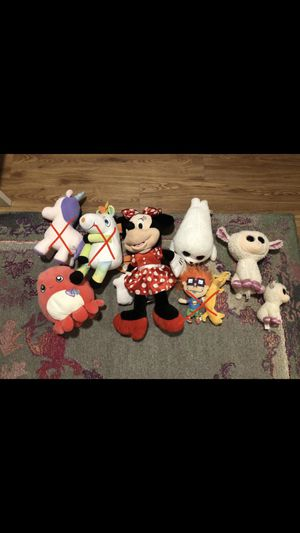 Misc stuffed animals (ask for price) for Sale in Keller, TX