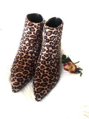 NWOT by Charles David leopard print ankle boot for Sale in WARRENSVL HTS, OH
