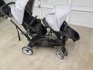 Baby trends Sit N Stand Double stroller for Sale in Avondale, AZ
