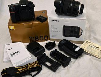 Nikon D850 & Tamron 24-70mm 2.8 G2 Lens for Sale in Coraopolis,  PA