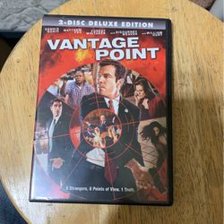 Vantage Point DVD for Sale in Lemoore,  CA