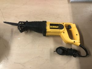 Sawzall, Tools-Power Dewalt DW303 .. Negotiable for Sale in Baltimore, MD