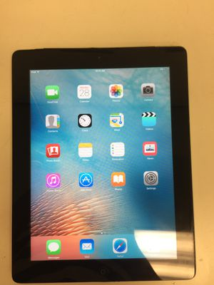 Apple ipad 2nd gen wifi 16gb unlock with charger for Sale in Houston, TX