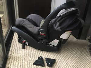 Car seat + base + Stroller adapter B-Safe for Sale in Orlando, FL