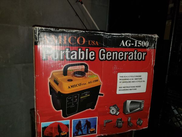 Amico portable generator