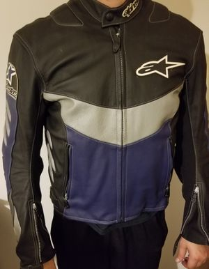 Mens leather motorcycle jacket for Sale in Adrian, MI