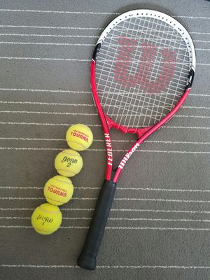 Wilson tennis racket 4 3/8 like new for Sale in Chicago, IL