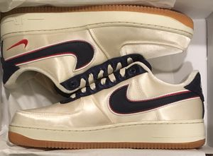 Nike Air Force 1 Satin Nigel Sylvester NYC Pop Up Exclusive Size 9.5 for Sale in New York, NY