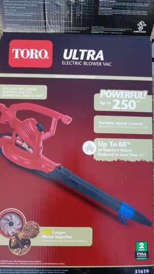 Leaf blower - electric for Sale in Elkridge, MD