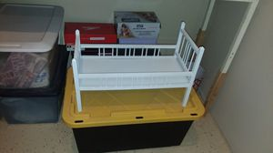 Doll Bed, white 23 1/2 Long for Sale in Kennewick, WA