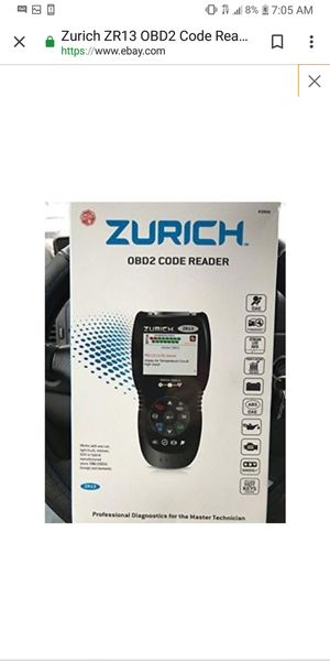 Obd2code reader zr13 for Sale in Menasha, WI