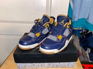 Jordan 4 retro dunk from above for Sale in Madera, CA