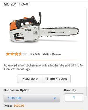 BRAND NEW STIHL MS 210 T CHAINSAW for Sale in Norwalk, CA
