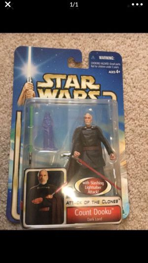 Star Wars Count Dooku Action Figure for Sale in Cibolo, TX