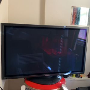 """Tv Panasonic 50"""" HDMI cord only 2008 for Sale in Boston, MA"""