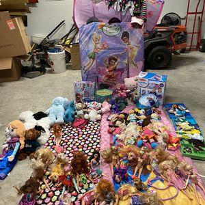 Girl Toys Lot for Sale in Cedar Creek, TX