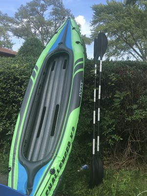 Intex 2person kayak but no paddle for Sale in Hoffman Estates, IL