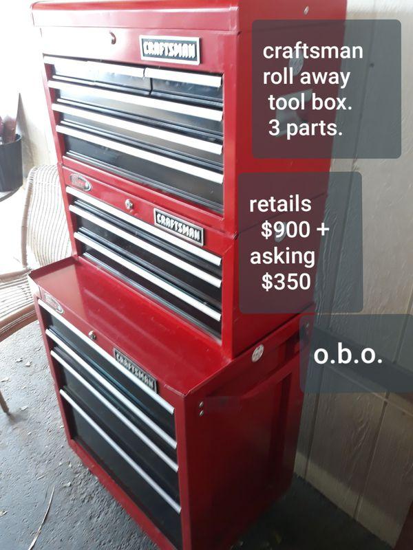 Craftsman Roll Away Tool Box