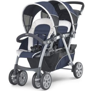 Chicco Cortina Double Stroller (Keyfit Compatible!) Model: Equinox for Sale in Buffalo, NY