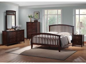 King Bedroom Set 4 piece sale today only $899 for Sale in Dallas, TX