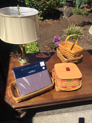 Misc Longaberger baskets $5-$40 for Sale in Camas, WA