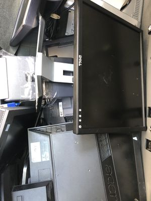 Dell,Acer monitors, computer pc desktop for Sale in Houston, TX