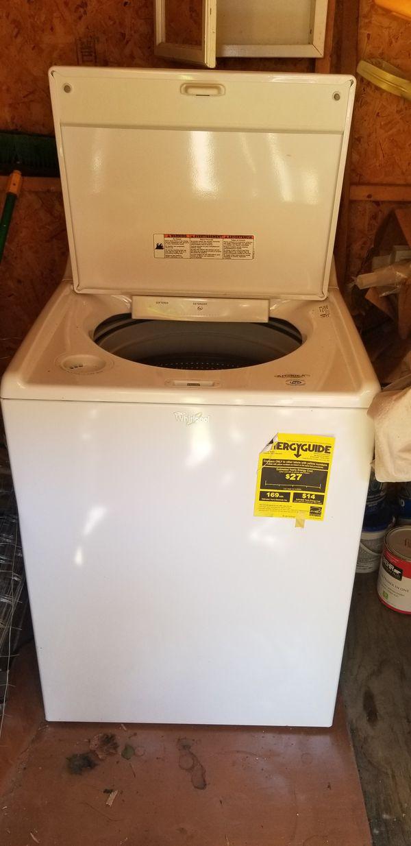 Cabrio Whirlpool Washer Machine
