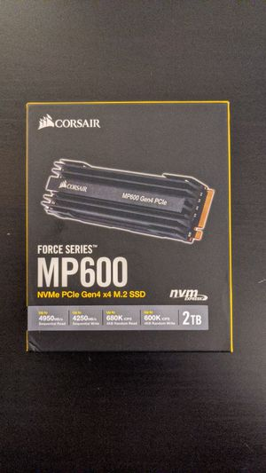 Corsair Force Series MP600 for Sale in West Springfield, VA
