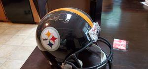 Signed Willie Parker Pittsburgh Steelers helmet for Sale in Lynchburg, VA