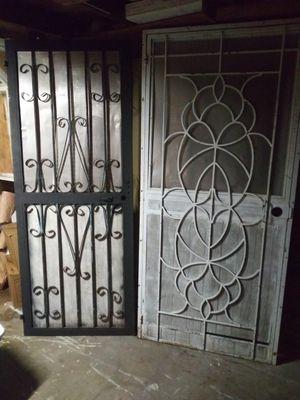 Metal screen doors for Sale in San Antonio, TX