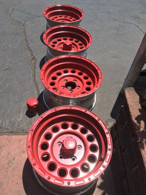 15 inch Rim Alloy Off-Road / Jeep Wheels for Sale in Burbank, CA