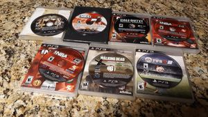 Ps3 games bundle for Sale in El Paso, TX