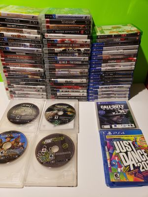 PS3 + PS4 Game Choice (7 games for $33) for Sale in Reinholds, PA