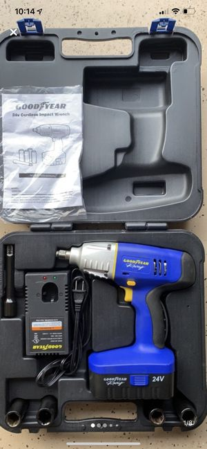 Goodyear 24v Cordless Impact Wrench for Sale in New Market, MD