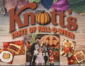 2 tickets knotts fall-o-ween for Sunday October 25th for Sale in La Mirada, CA