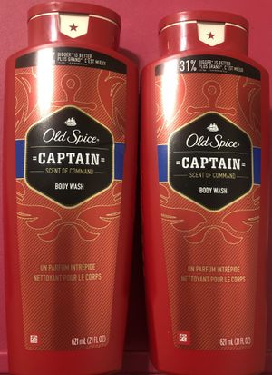 Old Spice Bodywash (Captain) for Sale in Fresno, CA