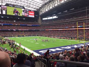 2- Texans vs Panthers Section 140, ( Aisle Seats) Blue Parking for Sale in Houston, TX