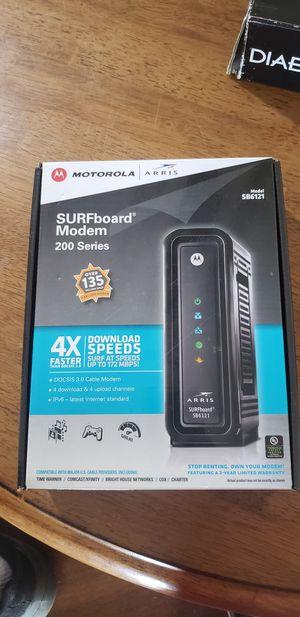 Motorola ARRIS SB6121 SURFboard modem for Sale in Miami, FL