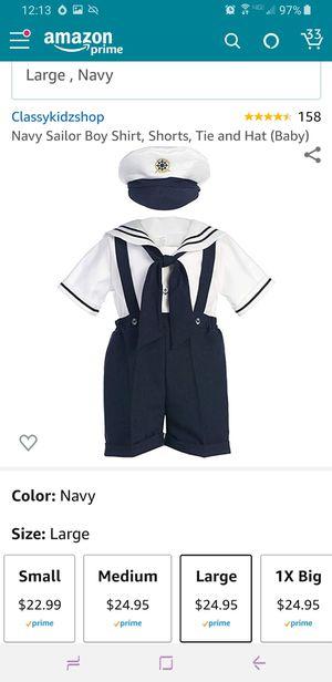 Sailor Navy toddler outfit for Sale in Gainesville, FL