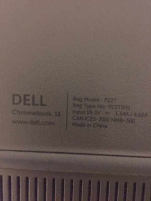 Dell chrome book