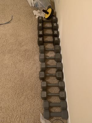 Dumbbell weights for Sale in Murfreesboro, TN