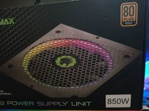 Brand new game max 850 gold RGB power supply for Sale in The Bronx, NY