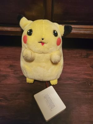 Pokemon 1st Plush electronic pikachu , pikachu lifesize if to exist for Sale in Tampa, FL