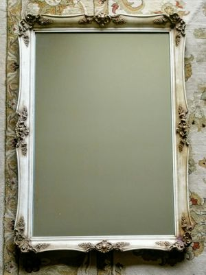 Basset Company elaborate old world garland antique vintage wall mirror for Sale in San Mateo, CA