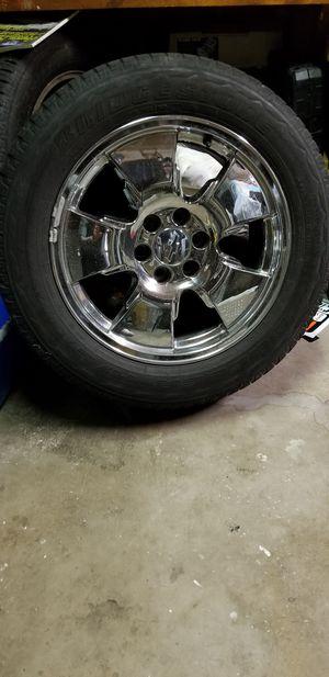 "20"" OEM Chevy wheels for Sale in Littleton, CO"