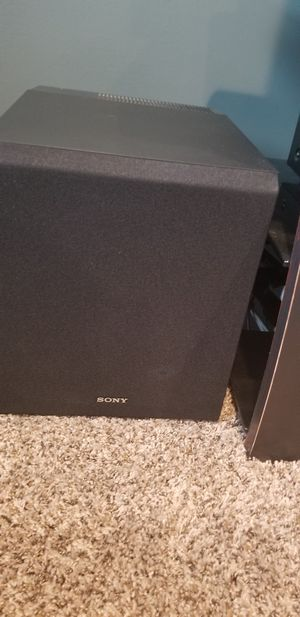 2 Sony Subwoofers SA-CS9 for Sale in Lincoln, NE